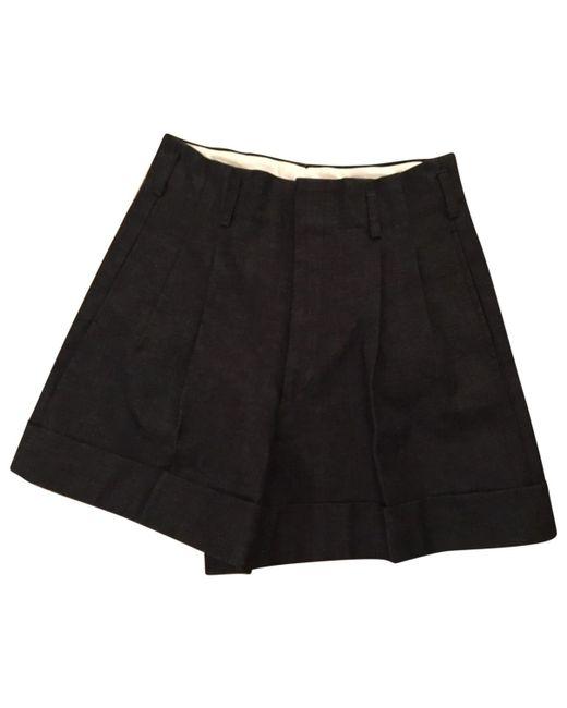 Comme des Garçons - Gray Grey Cotton Shorts - Lyst