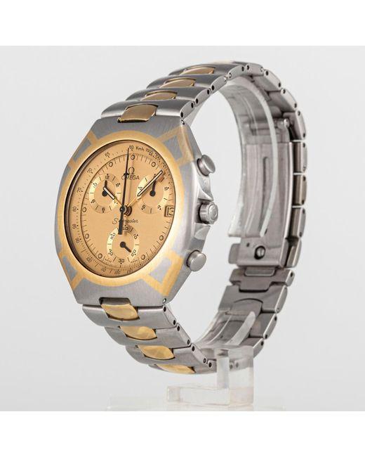 Relojes Seamaster Omega de hombre de color Metallic