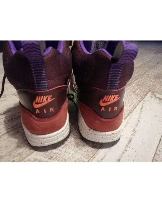 Nike Sneakers Air Max 1 in Pelle da donna