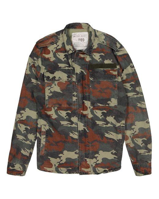 Zadig & Voltaire Multicolor Multicolour Cotton Jacket