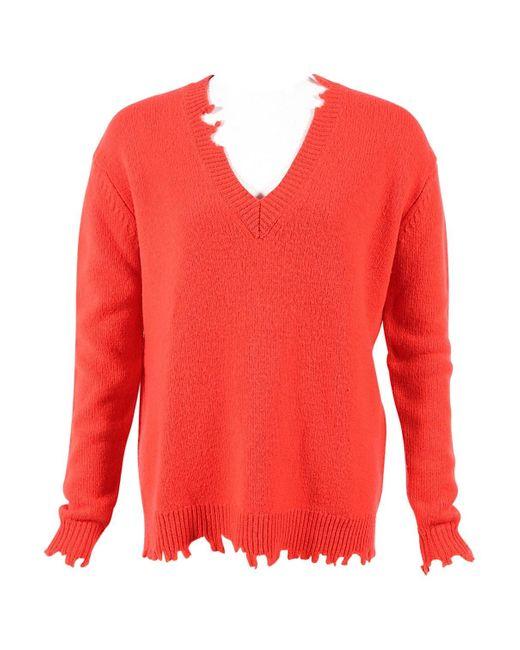 Vanessa Bruno Red Wool