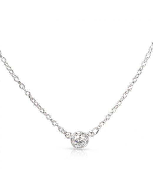 Tiffany & Co - Metallic Other Platinum Ring - Lyst