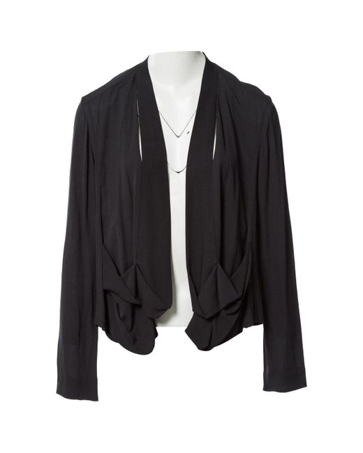 Marni Black Viscose Jacket