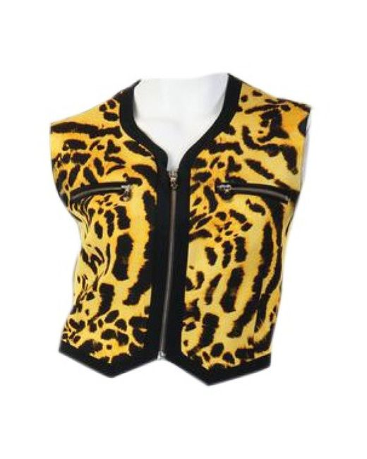Versace Multicolor Other Fur Top