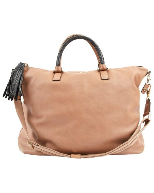 Anya Hindmarch Brown Leather