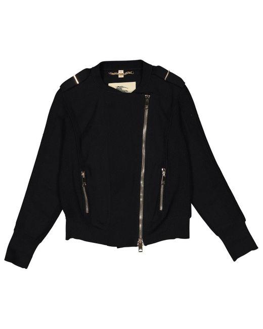 Burberry Black Synthetic Jacket
