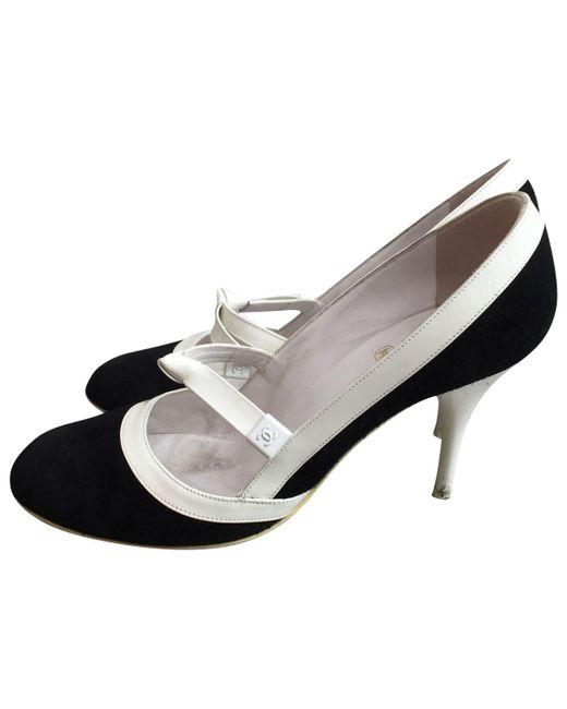 Chanel - Black Heels - Lyst