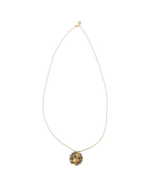Tory Burch - Metallic Necklace - Lyst