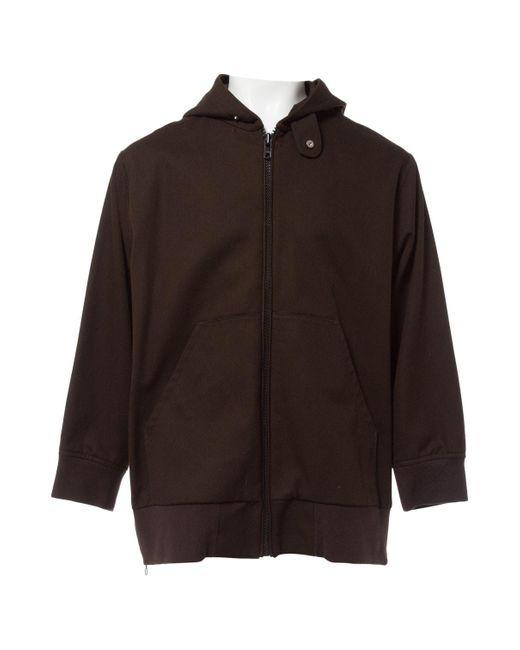 Acne Brown Cotton Jacket for men