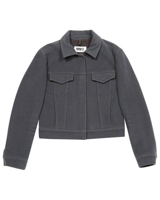 Maison Margiela Gray Anthracite Wool Jacket