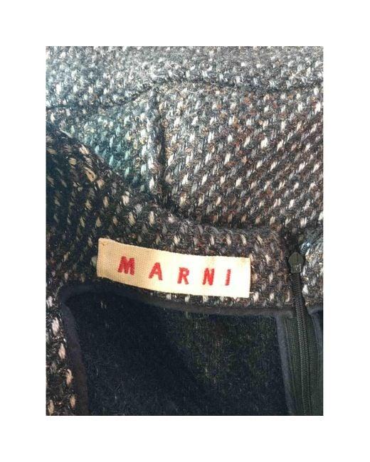Marni Camiseta de Lana de mujer de color azul dVrun