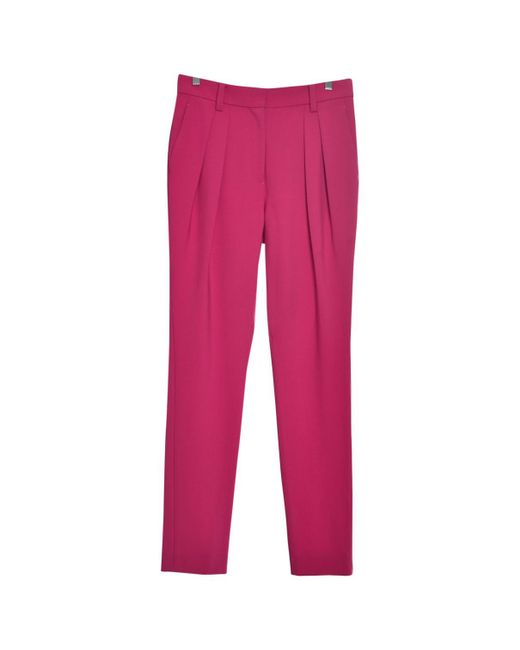 Marc By Marc Jacobs - Pink Wool Straight Pants - Lyst