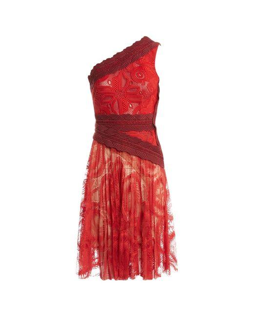 Antonio Berardi Red Synthetic Dress