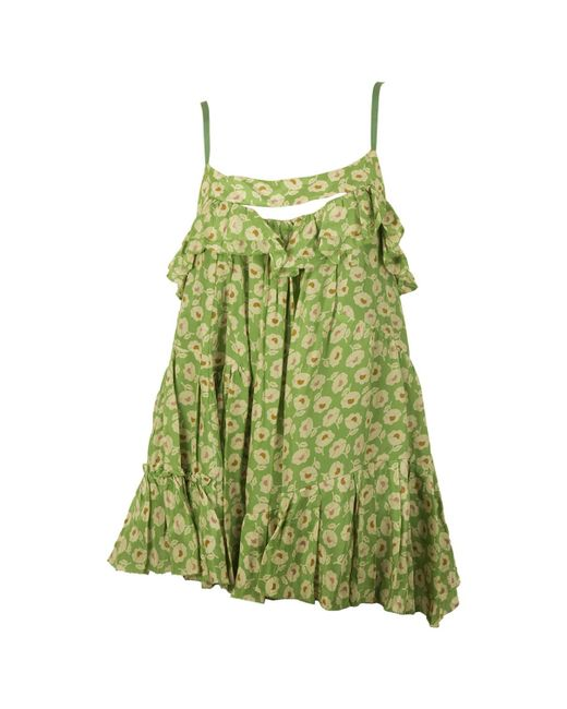 Marc By Marc Jacobs - Green Pre-owned Silk Camisole - Lyst