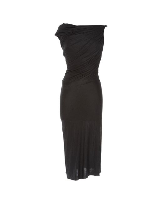 Versace Black Viscose Dress