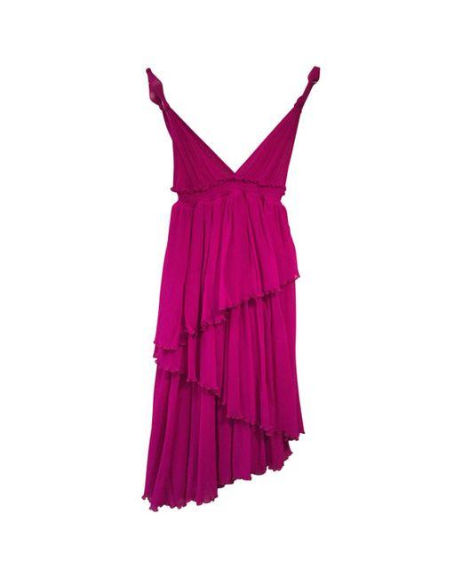 Jean Paul Gaultier - Pink Mid-length Dress - Lyst