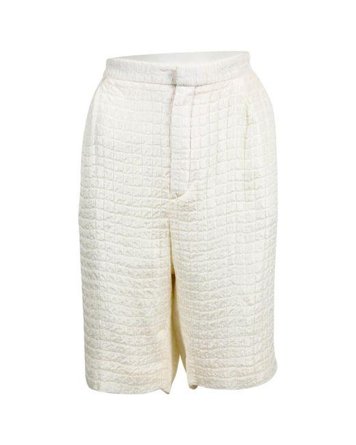 Chloé - White Silk Shorts - Lyst