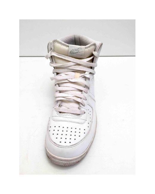 Nike Sneakers in Pelle da donna di colore bianco
