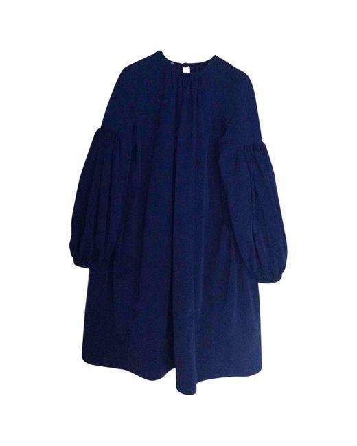 CALVIN KLEIN 205W39NYC Blue Mid-length Dress