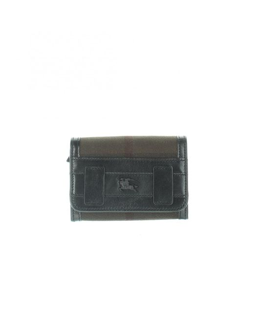 Burberry Brown Leder Portemonnaies