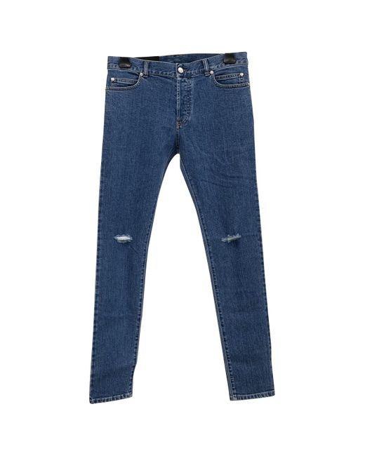 Balmain Slim jeans in Blue für Herren