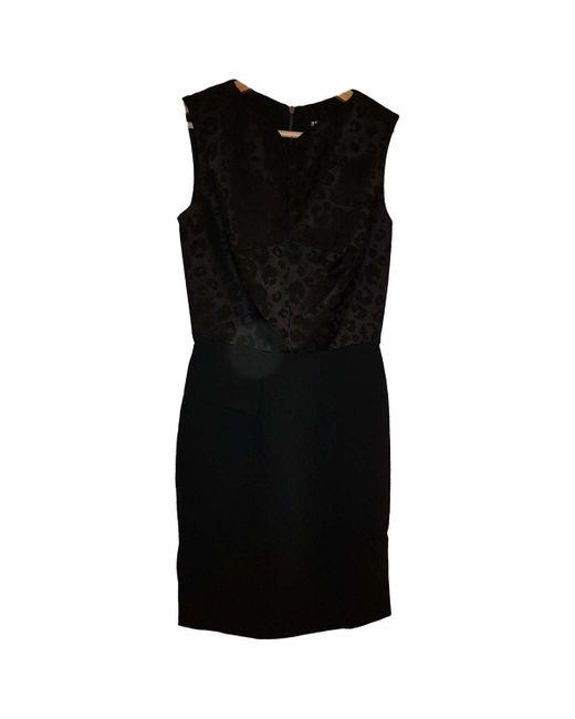 Roland Mouret Vestido midi de mujer de color negro