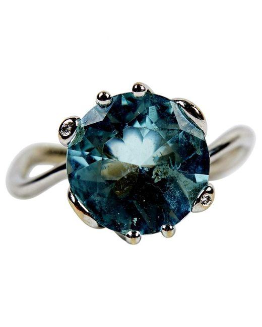 Dior Metallic Silver White Gold Ring