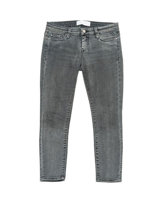 IRO Gray Grey Cotton - Elasthane