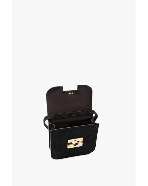Victoria Beckham Black Eva Cross Body Bag