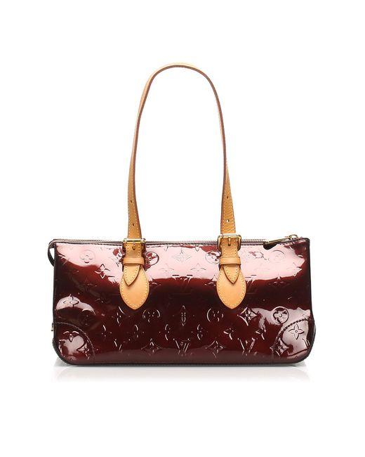 Sac en bandoulière en cuir vernis leather autre Louis Vuitton en coloris Multicolor