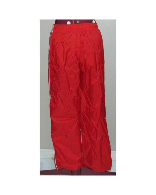 Pantalon de survêtement polyamide rouge Nike en coloris Red