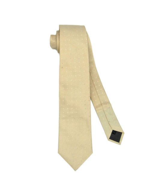 Cravate soie blanc Valentino Garavani pour homme en coloris White