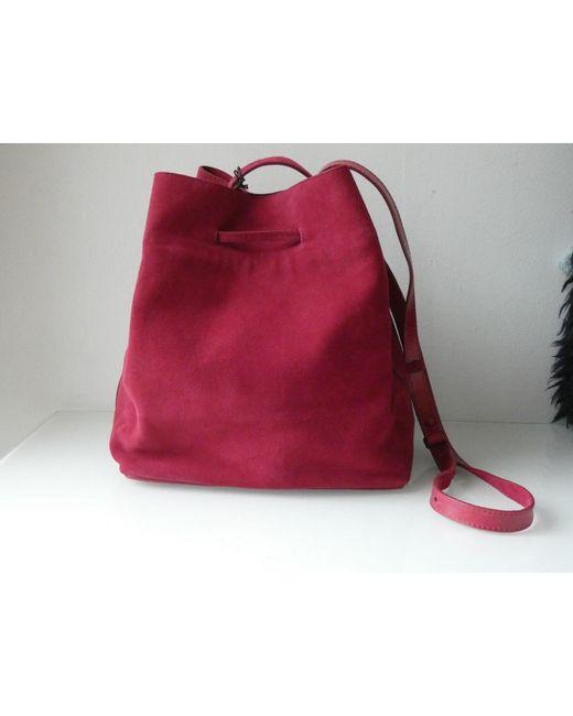 Sac à main en cuir cuir rose Gerard Darel en coloris Pink