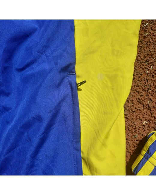 Blouson polyester multicolore Adidas pour homme en coloris Blue