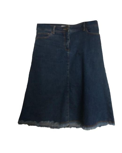 Gerard Darel Jupe en jean coton bleu femme 2Mg5Q