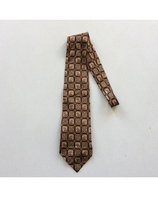 Cravate soie multicolore Fendi pour homme