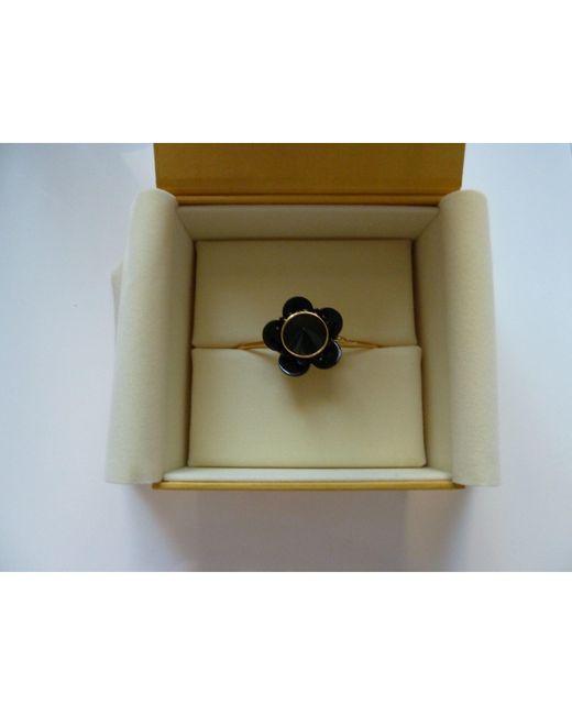 Bracelet acier noir Fendi en coloris Black