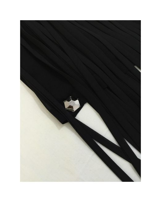 Top, tee-shirt coton noir Philipp Plein en coloris Black