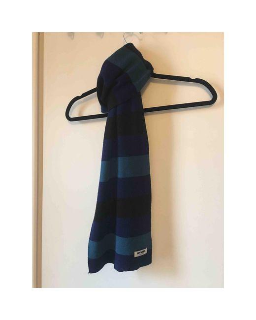 Echarpe laine bleu Sonia Rykiel pour homme en coloris Blue