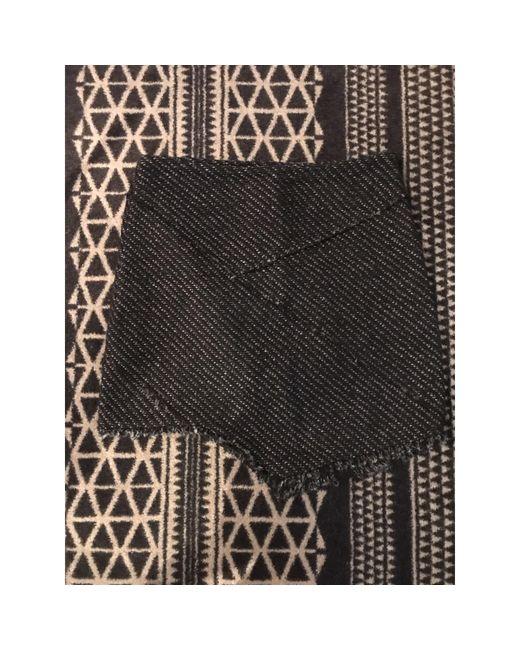 Jupe courte coton noir Maje en coloris Black