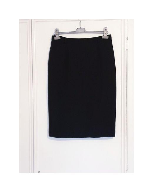 Jupe courte laine noir Gerard Darel en coloris Black