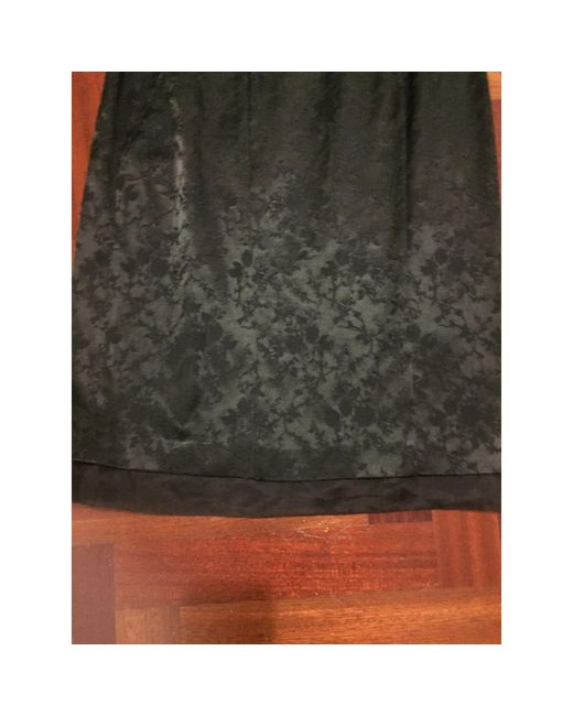 Robe bustier acetato44%, seta 16%, noir Dolce & Gabbana en coloris Black