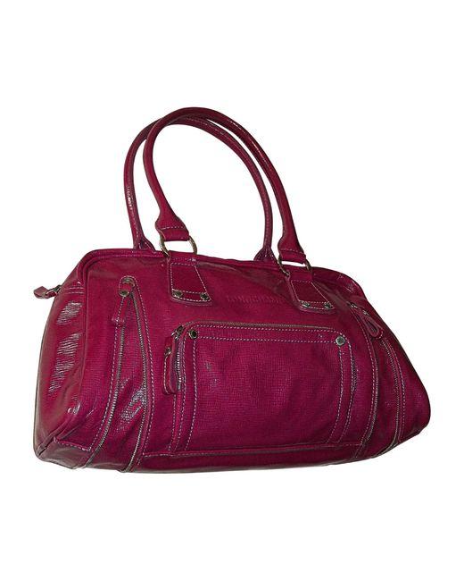 Sac à main en cuir cuir verni autre Longchamp en coloris Multicolor