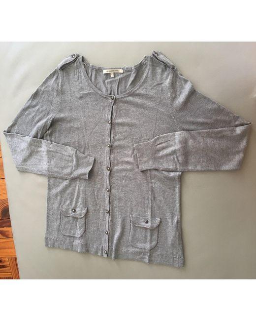 Gilet, cardigan viscose gris Gerard Darel en coloris Gray