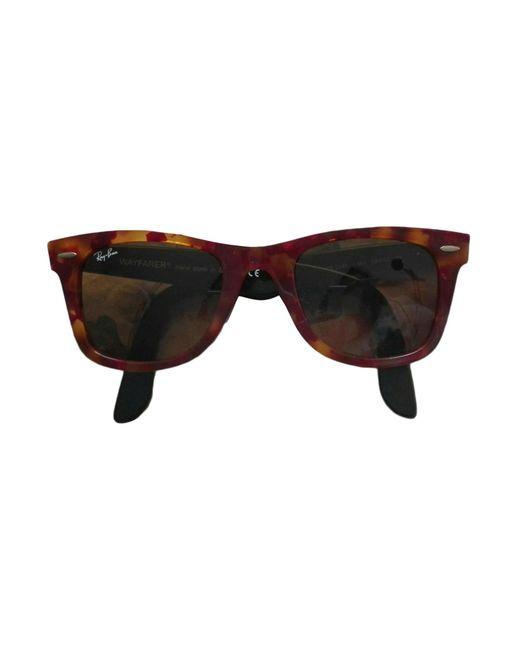 Lunettes de soleil marron Ray-Ban en coloris Brown