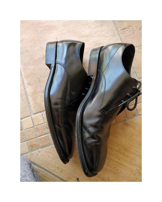 Chaussures à lacets cuir noir Tod's pour homme en coloris Black