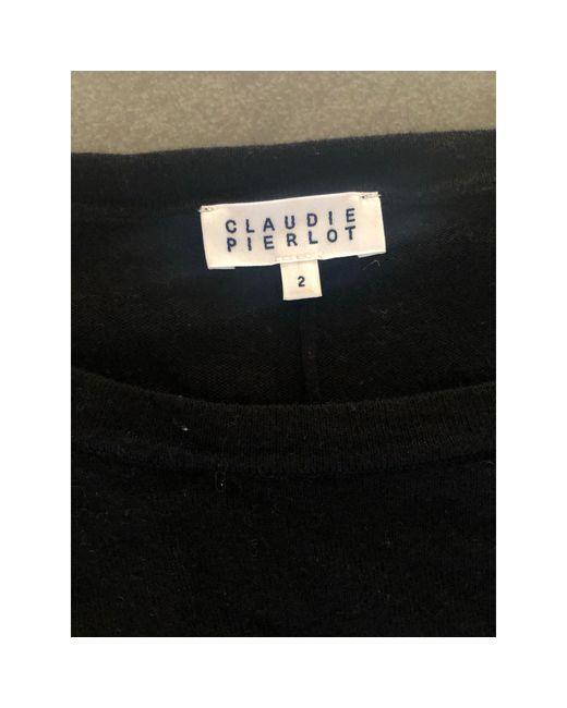 Pull viscose noir Claudie Pierlot en coloris Black