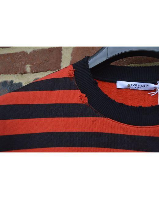 Sweat coton rouge Givenchy pour homme en coloris Red