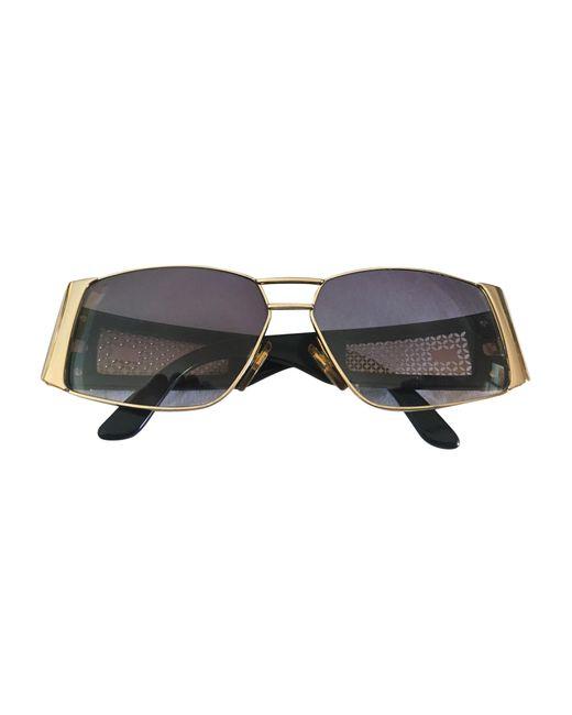 Lunettes de soleil doré Valentino Garavani en coloris Metallic