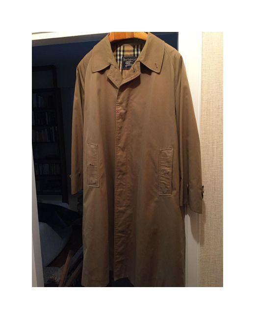 Imperméable, trench coton beige Burberry pour homme en coloris Natural